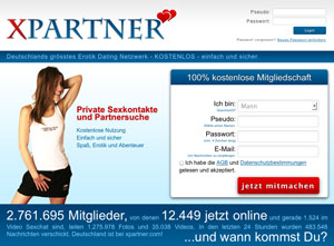 Sex Dating auf Xpartner